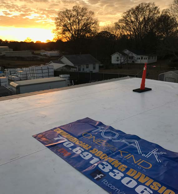 Commercial Roofing Contractor Rydal GA